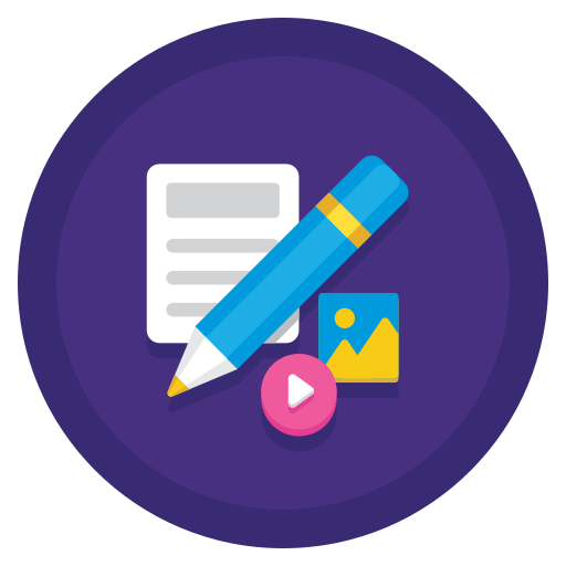 content management system icon