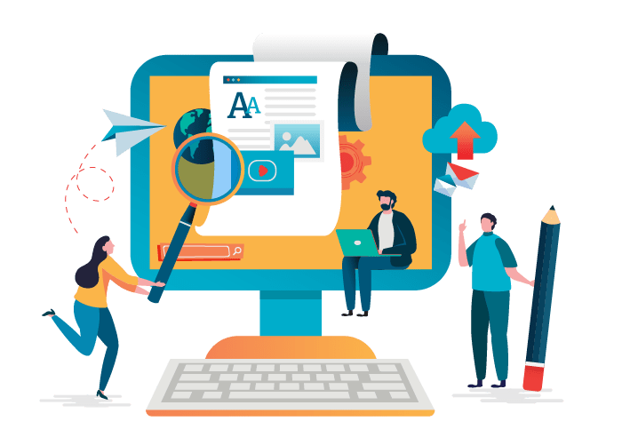 content writing for website